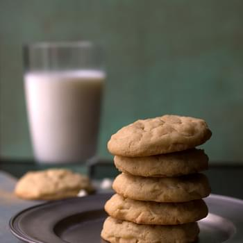 Irish Cream White Chocolate Chip Cookies