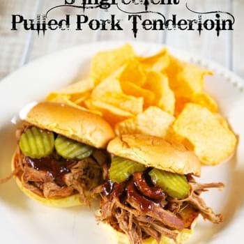 3-Ingredient Pulled Pork Tenderloin