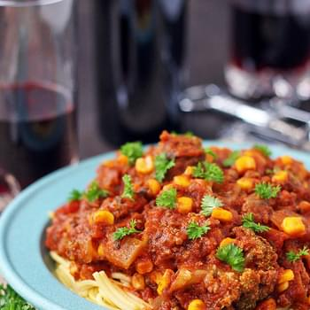 Quick and Easy, Slow Cooker Spaghetti Sauce with Veggies (Gluten Free, Dairy Free, Kid Friendly)