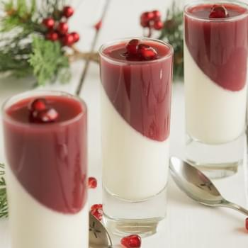 Pomegranate panna cotta & $25 Target gift card giveaway