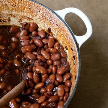 Berry Beer Baked Beans