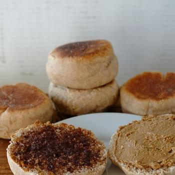 Homemade Whole Wheat English Muffins
