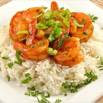 Shrimp with Curried Tomato Sauce