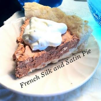French Silk and Satin Chocolate Pie