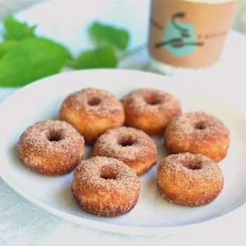 Cinnamon Sugar Mini Donuts