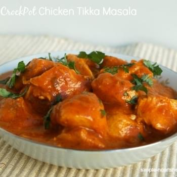 Easy CrockPot Chicken Tikka Masala