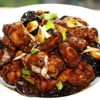 CHINESE BRAISED CHICKEN WITH MUSHROOMS