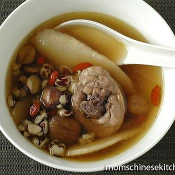 Chinese Chicken Soup with Herbs