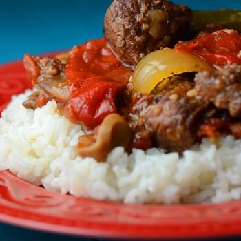Crock Pot Pepper Steak