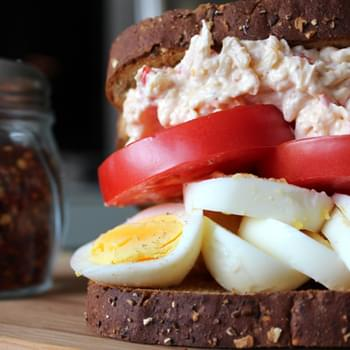 Egg Sandwich with Pimento Cheese