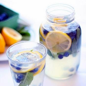 Blueberry Mint Lemonade
