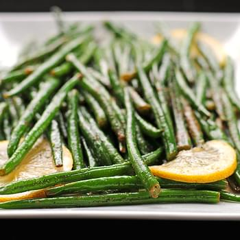 Garlic Lemon Green Beans