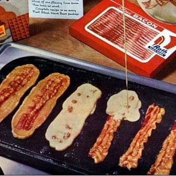 Bacon Strip Pancakes