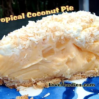 Tropical Coconut Pie