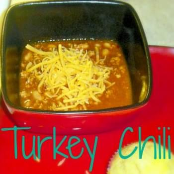 Chunky Turkey Chili with Beans