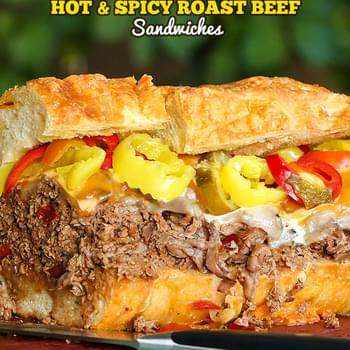 Hot & Spicy Roast Beef Sandwiches