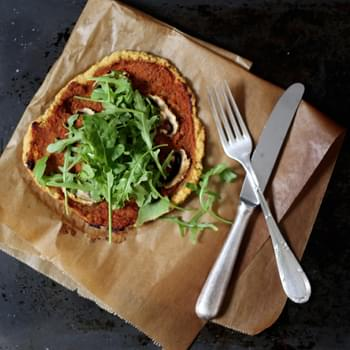 Chickpea Pizza Crust