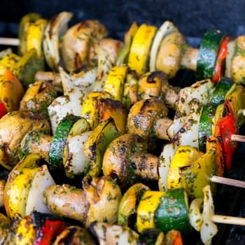 Grilled Moroccan Vegetable Skewers