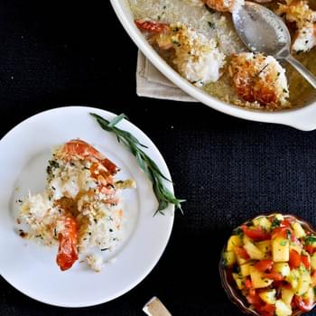 Coconut Baked Shrimp