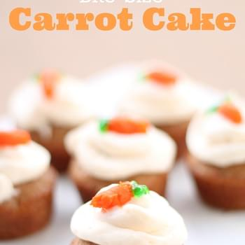 Bite-Size Carrot Cakes