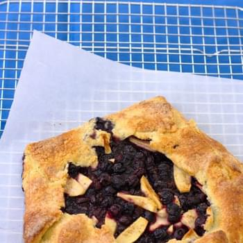 Blueberry-Apple Galette