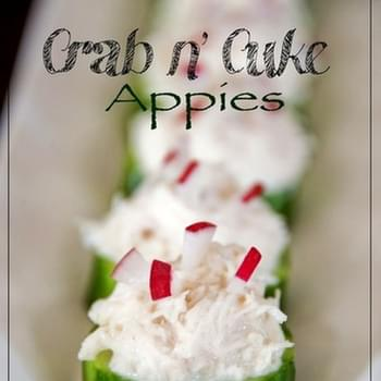 Crab n' Cuke Appies