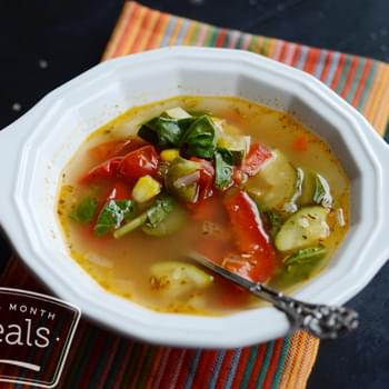 Smart Ones Fire Roasted Vegetable Soup (Gluten Free!)