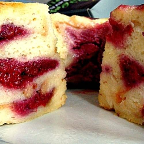 Fluffy Raspberry Ripple Bread & Butter Pudding
