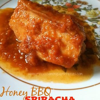 Honey BBQ Sriracha Chicken