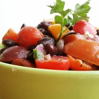 Zesty Tomato and Black Bean Salad