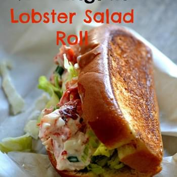 New England Lobster Salad Roll