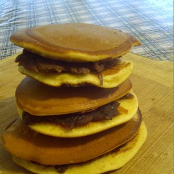 Japanese red bean pancakes – DORAYAKI (