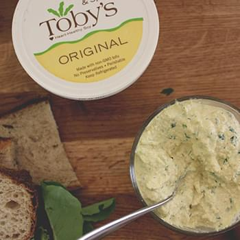 Homemade Toby's tofu paté (or dip and spread)