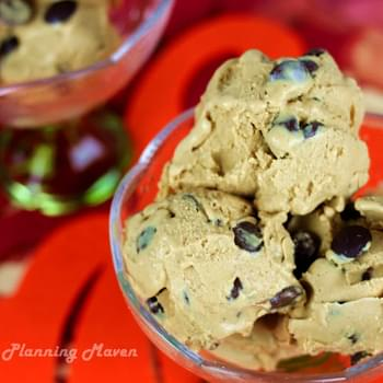 Choco-Chip Pumpkin Cheesecake Ice Cream
