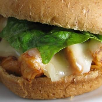 BBQ Ranch Chicken Sliders