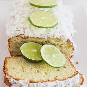 Coconut Lime Pound Cake