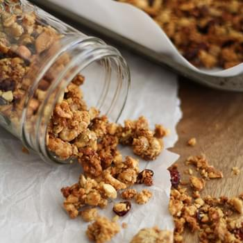 Gluten Free (and Paleo!) Granola