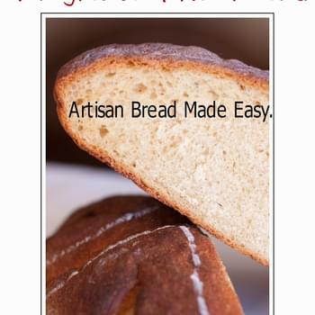 No Knead 4 Ingredient Overnight Bread Anyone Can Make