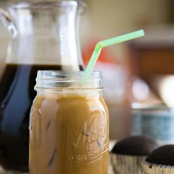 Iced Coffee with Condensed Milk