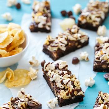 Loaded Junk Food Brownies