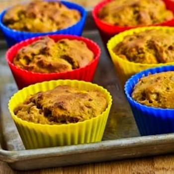 Low-Sugar and Whole Wheat Mango Walnut Muffins (or bread)