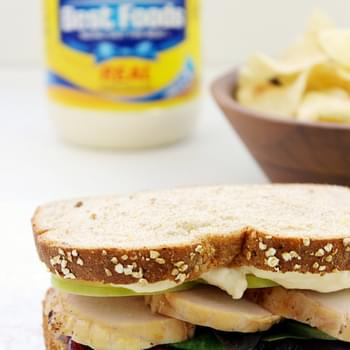 Cran-Apple Turkey Sandwich
