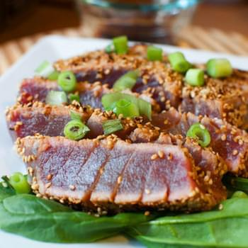 Seared Ahi Tuna Pupus
