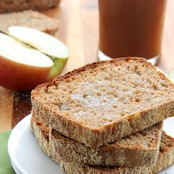 Apple Cinnamon English Muffin Bread