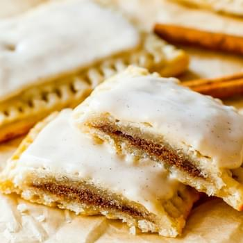 Homemade Frosted Brown Sugar Cinnamon Pop-Tarts