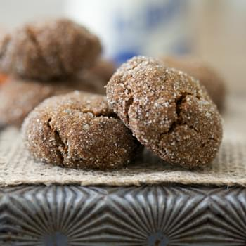 The Perfect Molasses Cookie (Grain Free, Paleo, Gluten Free)