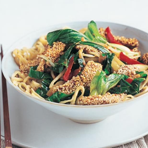 Stir-fried Sesame Pork