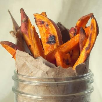 Chili Lime Baked Sweet Potato Fries