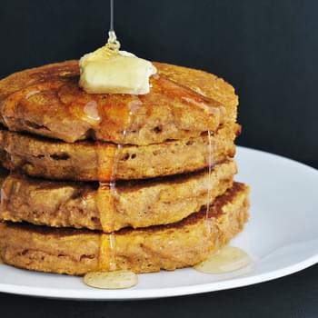 Whole Wheat Pancakes (With Vegan Option)