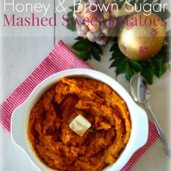 Honey & Brown Sugar Mashed Sweet Potatoes